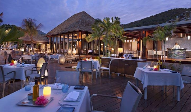 Enjoy some succulent island seafood