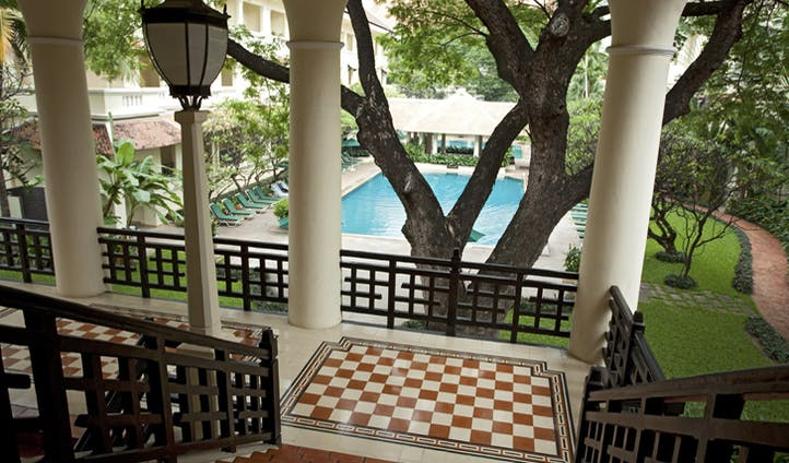 One of Raffles luxury resorts in Cambodia