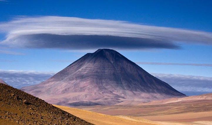 Licancabur Mountain, Bolivia
