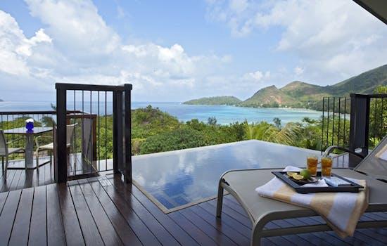 What a view, Raffles Seychelles