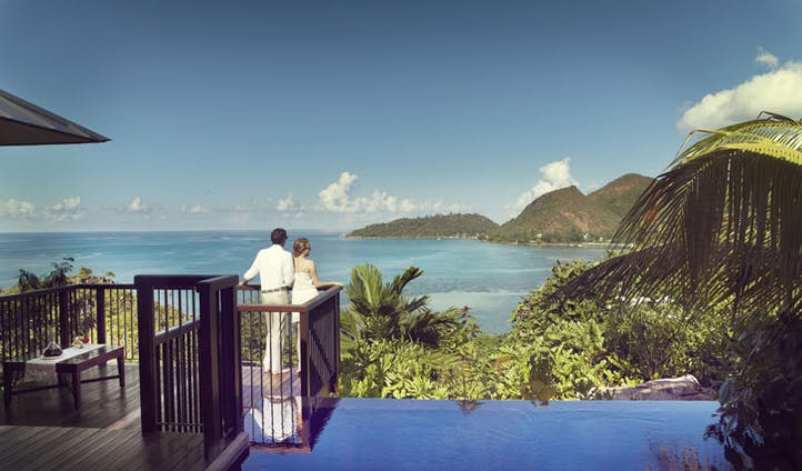 Enjoy the views from your villa