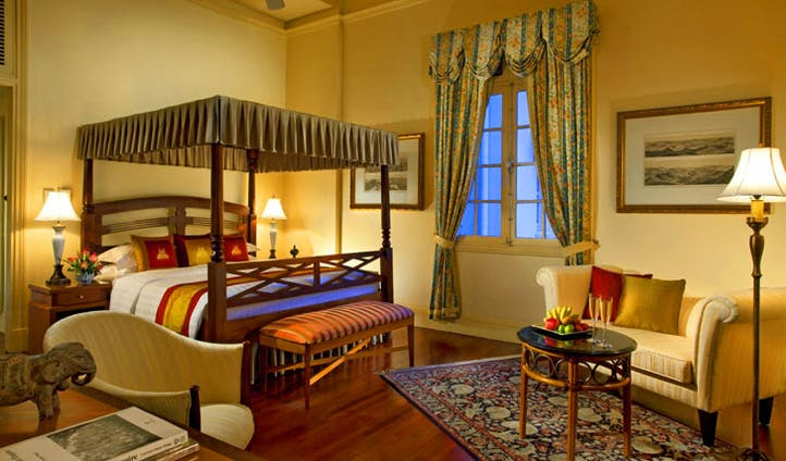 Rest up in luxury at the Raffles Le Royal