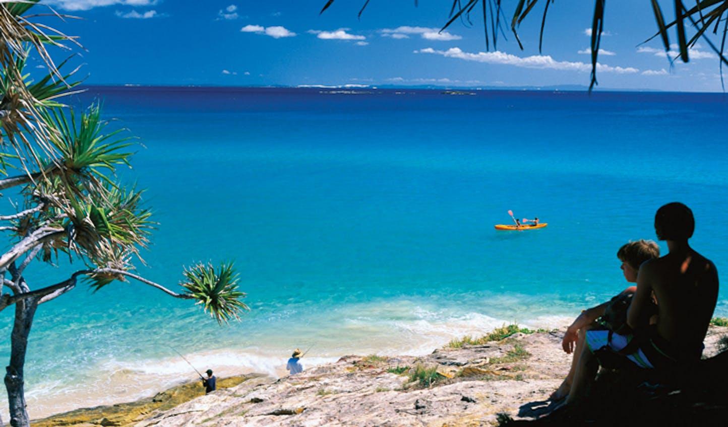 Beach Scene Brisbane