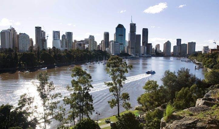 Brisbane skyline, Australia