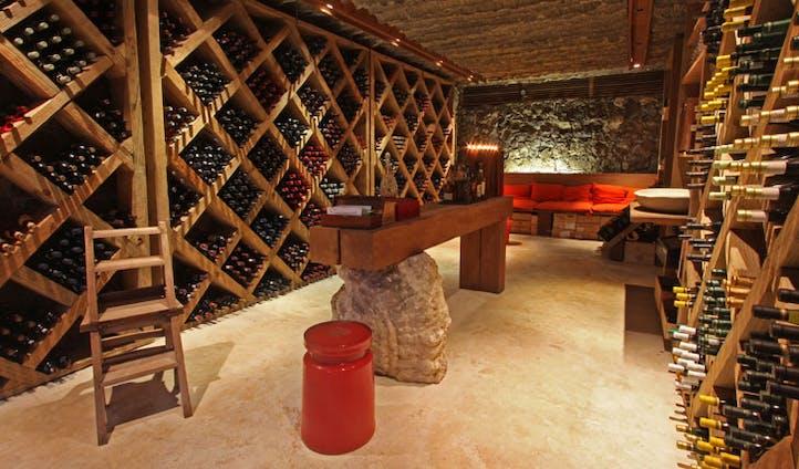 North Island, Seychelles, Wine cellar