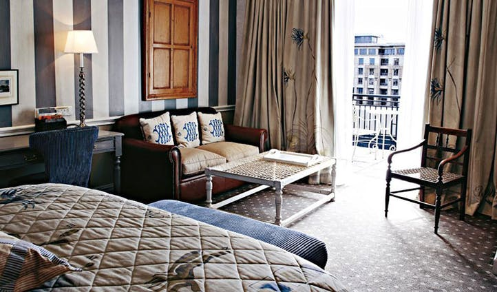 Cape Grace Hotel guestroom in Cape Town, South Africa