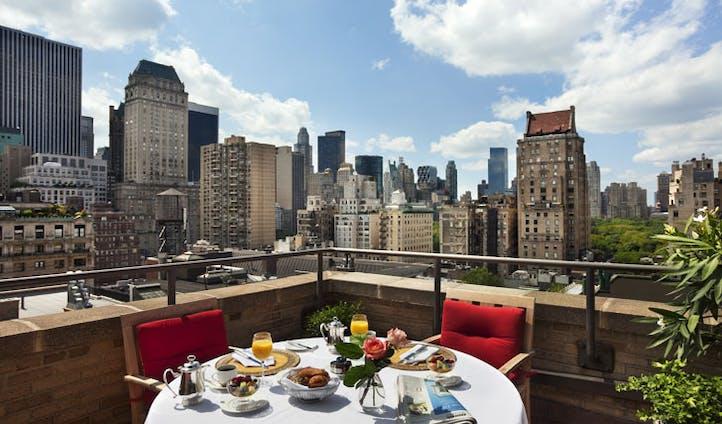Breakfast at Plaza Athenee New York