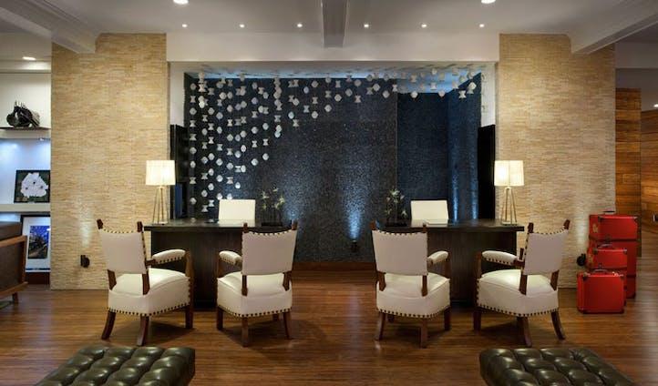 The Hutton Hotel interior