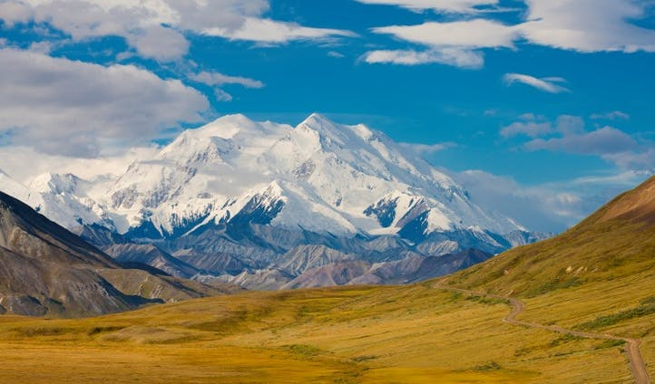 The stunning scenes of Mount McKinley