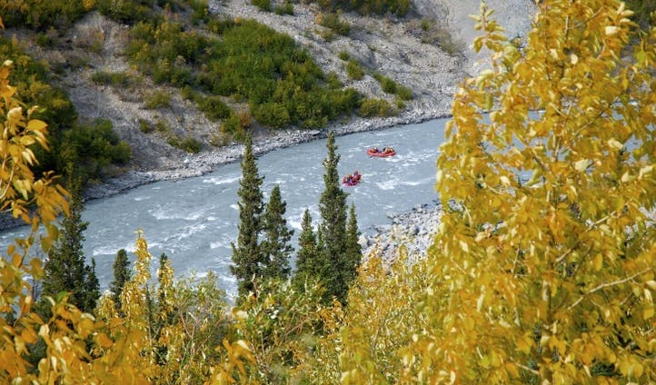 Kayak the Nenana River Canyon