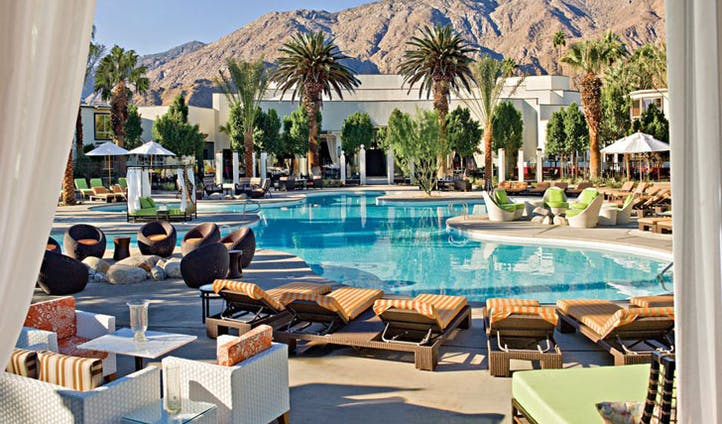 Lounge in the Riviera | Palm Springs | Black Tomato