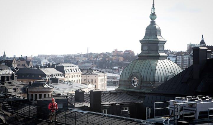 Rooftop walks in Stockholm