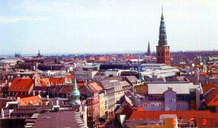 Rooftops of Copenhagen
