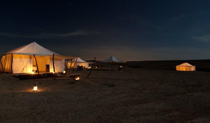 תכנון טיול למרוקו - לינה במדבר