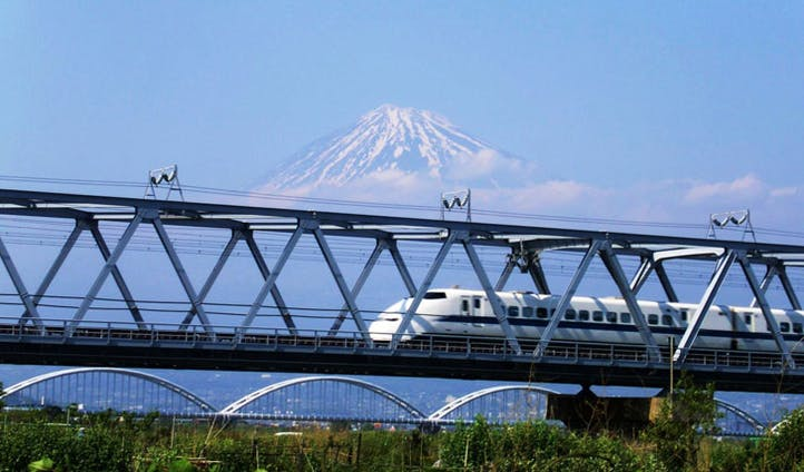 Bullet Train (with a view)