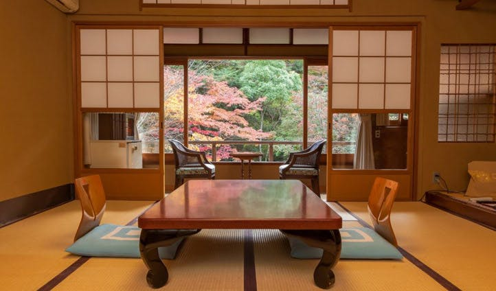 Traditional Ryokan interiors