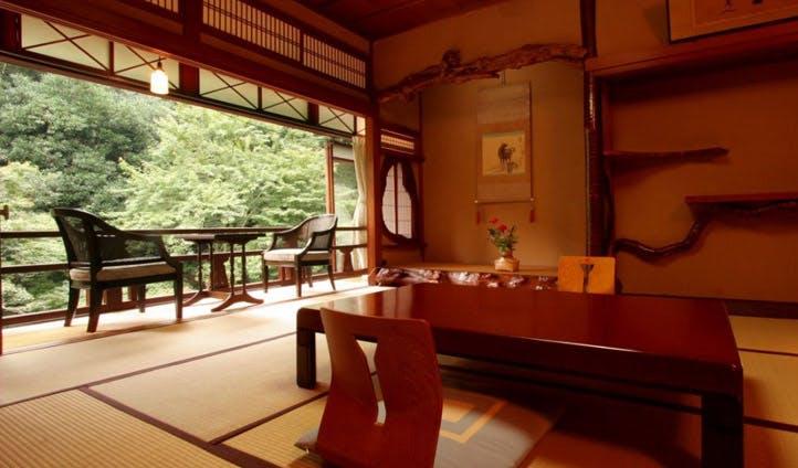 Traditional Ryokan interiors