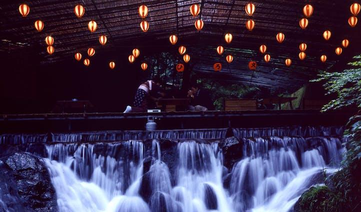 Night lights of Kyoto