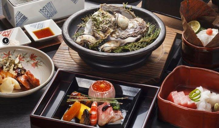 Sushi at Iwaso Miyajima
