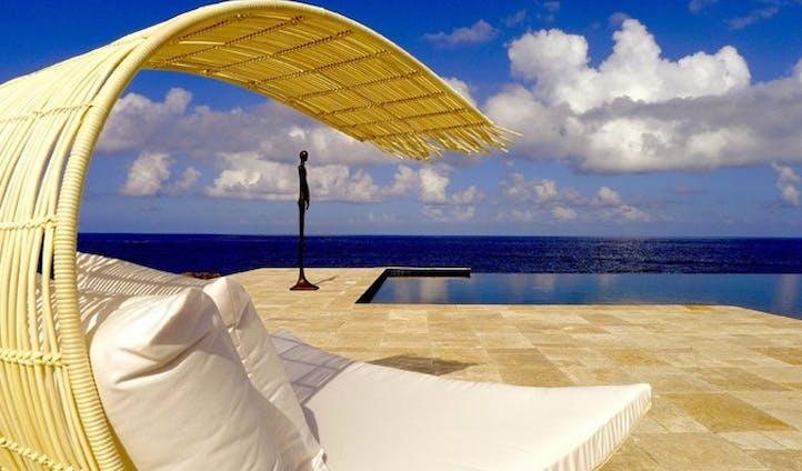 Stunning beach side pool