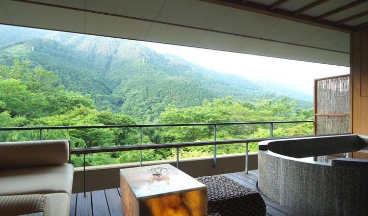 Hakone Ginyu room views