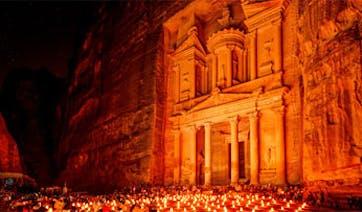 Petra-Night