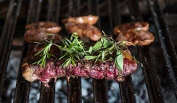 Steak in Buenos Aires Argentina