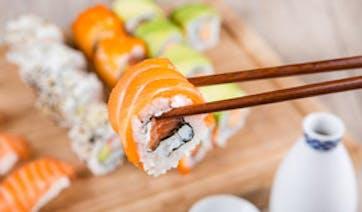 Sushi and Sake in Japan