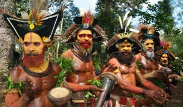 West Papua Learn Tribal Ways