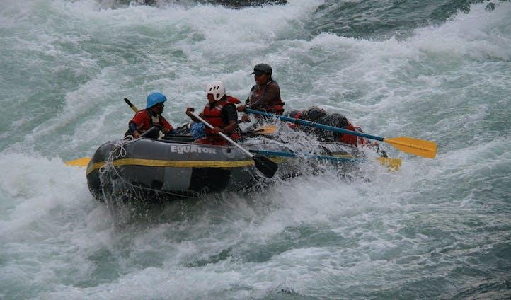 Rafting trip in Nepal