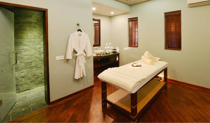 Spa at luxury hotel in Myanmar