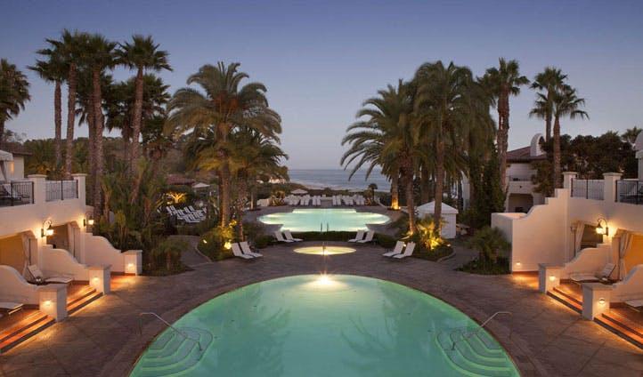 The pool at Bacara Resort & Spa