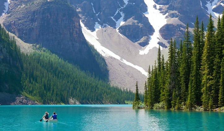 Luxury trip to Canada