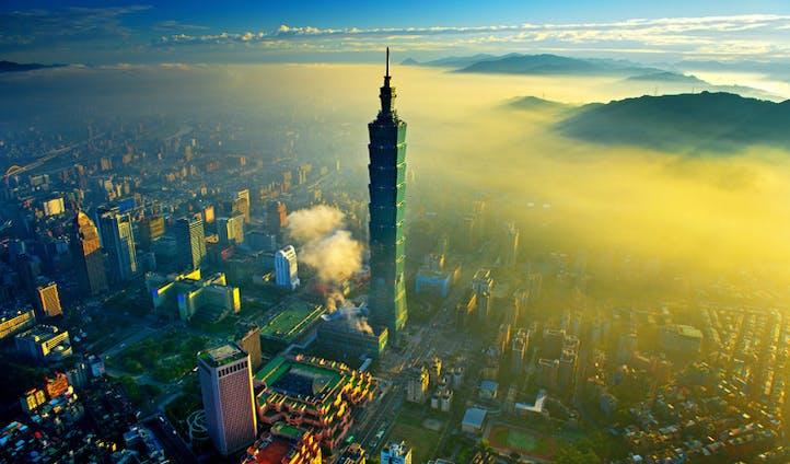 Taipei's incredible cityscape