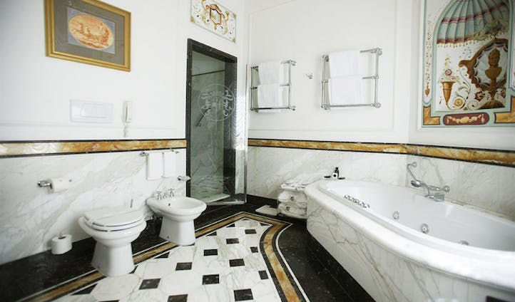 A stunning bathroom at the Grand Majestic