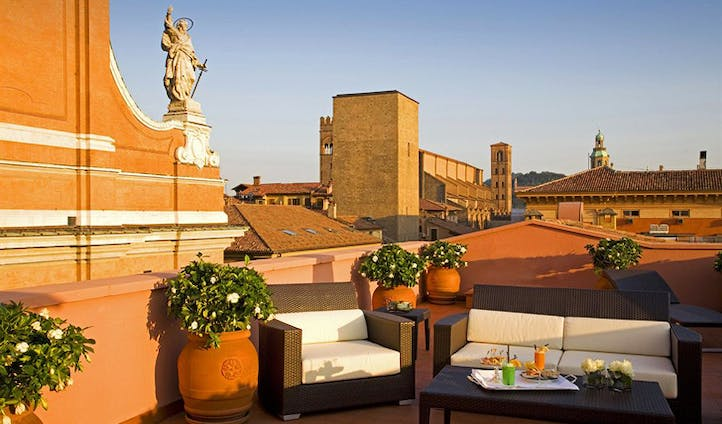 Rooftop lounge at the Grand Majestic