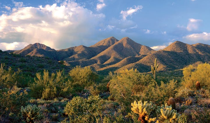 McDowell mountains, Scottsdale Arizona