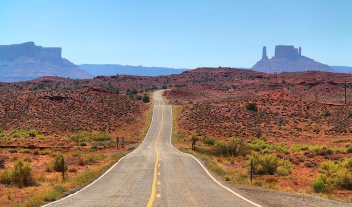 Road trip through Utah