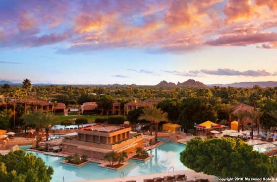 A spectacular Arizonian sunset