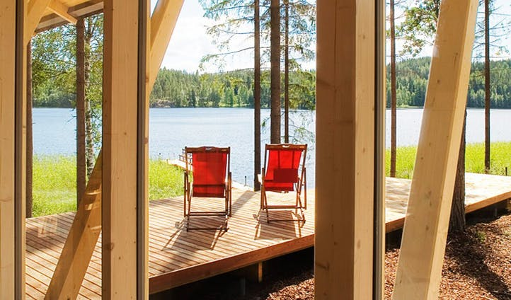 Beautiful villas in Finland