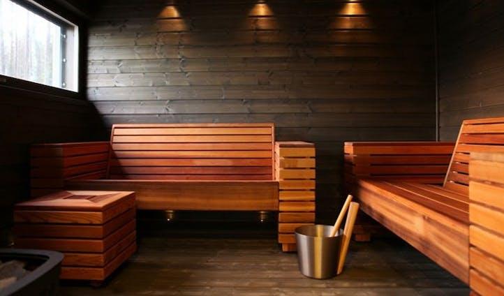 Private sauna in Finland