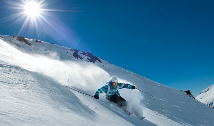 Skiing in Argentina
