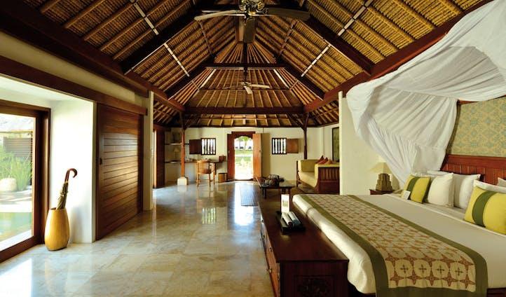 Luxury hotel villa at Jimbaran Puri, Bali, Indonesia