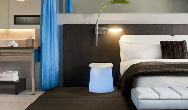 W Hotel Montreal bedroom decor