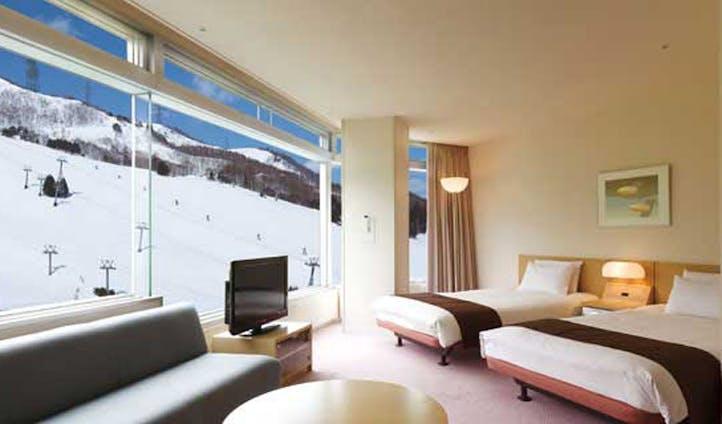 Luxury hotel the Naeba Prince in Naeba, Japan