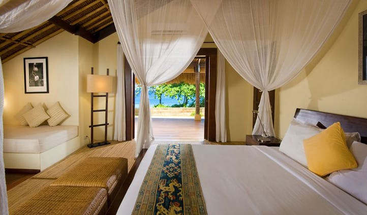 Luxury hotel villa at Nihiwatu, Sumba, Indonesia