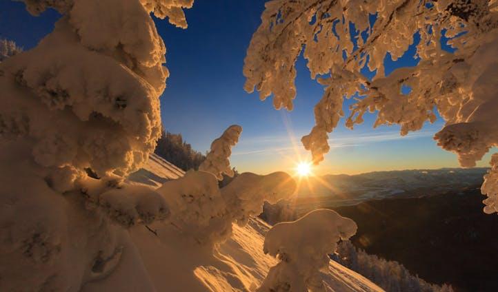 Teton Pass in Wyoming, USA