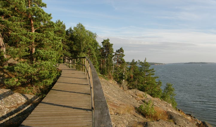 Path in the Åland Islands, Finland