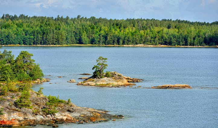 Åland Islands' landscape, Finland
