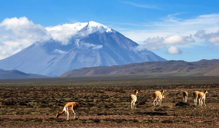 Arequipa landscape, Peru